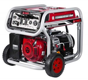 A ipower gasoline powered generator