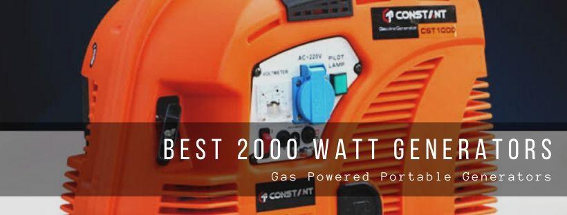 Top 10 best 2000-watt generators