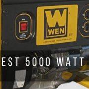 Top 7 best 5000 watt generators