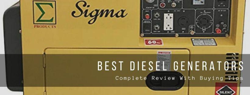 Top 6 best diesel generators