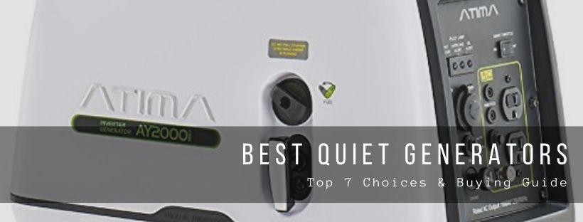 Top 7 best quiet generators