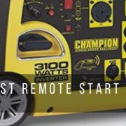 Top 10 best remote start generators