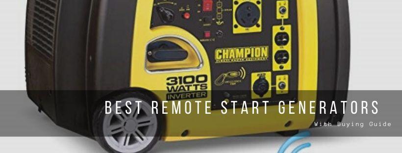 Top 10 best remote start generators