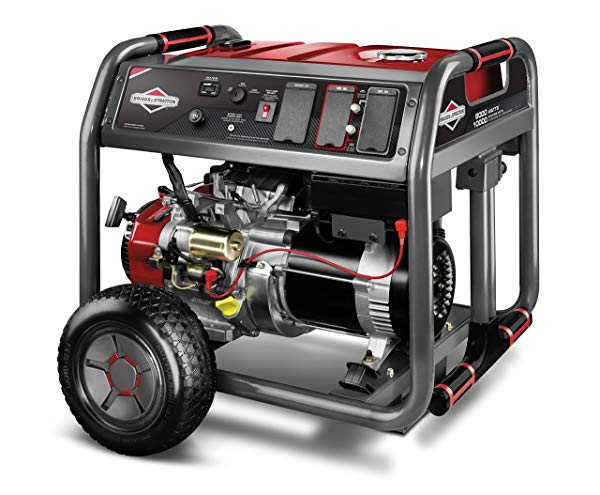 Briggs and Stratton power station with 10,000 watts output