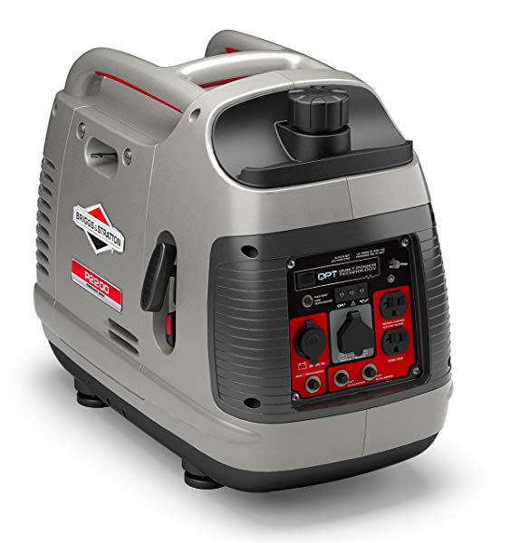 Briggs & Stratton lightweight power station with 8 hrs runtime