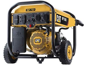 CAT gas powered generator