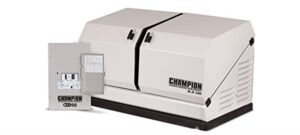 Champion standby generator for whole house