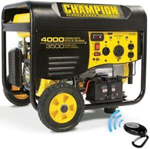 Champion remote start portable generator