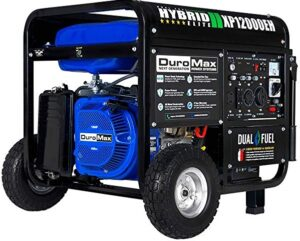 DuroMax Portable dual start generator