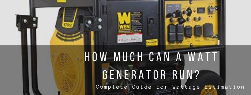 Wattage Estimation Guide
