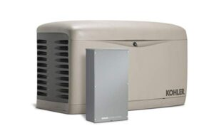 Kohler air cooled standby generator for whole house