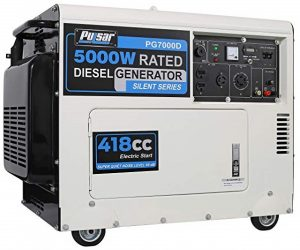 Pulsar diesel powered generator