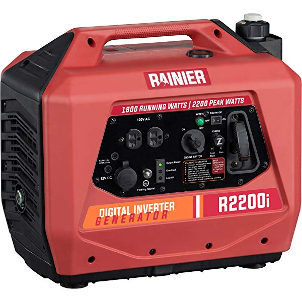 Rainier lightweight power station with quiet performance