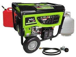 Smarter tools Dual Fuel portable generator