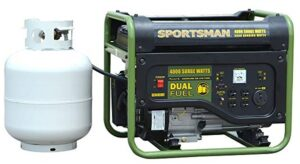 Sportsman GEN4000DF Dual Fuel Powered Portable Generator