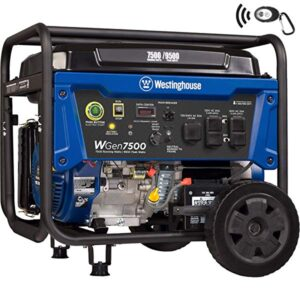 Westinghouse with remote electric start Generator
