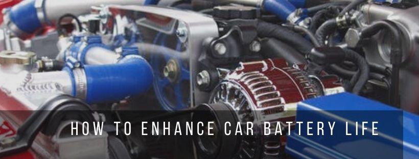 Tips to enhance car battery life