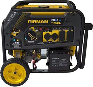 Firman Carb Compliant Dual fuel generator