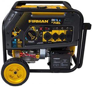 Firman dual fuel portable generator