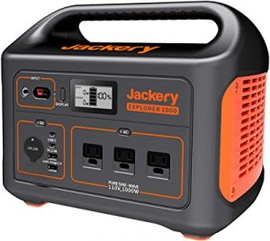 Jackery lightweight power station