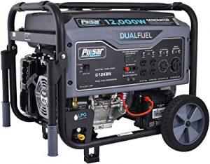 Pulsar dual fuel lightweight power station