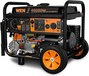 WEN DF1100T lightweight dual fuel generator